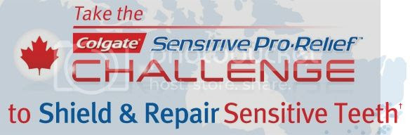 Colgate Sensitive Pro Relief Challenge