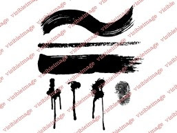 Visible Image Drag n Drip background stamps