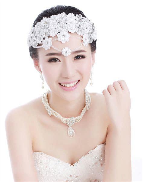 Buy Wholesale Luxury Bride Rhinestone Lace Flower Beads
