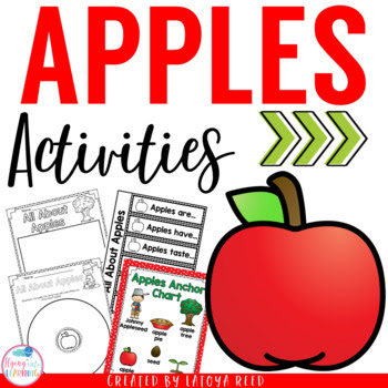 Apple Unit Activities for PreK K 1st