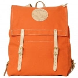 Yuketen Canoe Backpack Orange Canvas