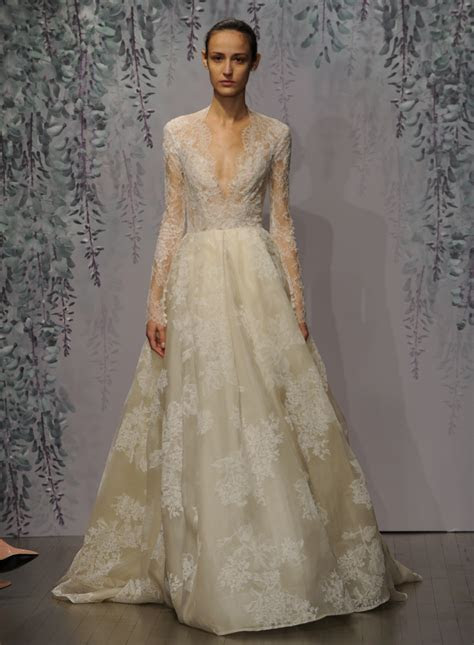 Monique Lhuillier's Fall 2016 Wedding Dress Collection Is