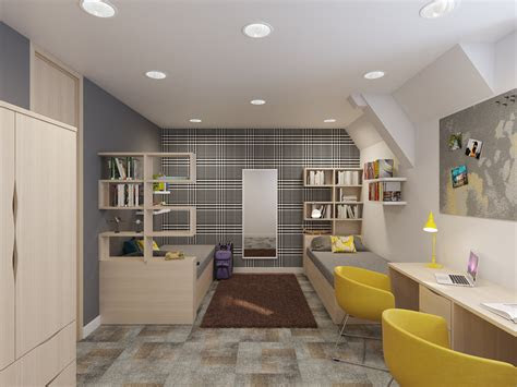 envoplan school boarding house interior design