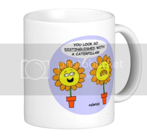 Funny Flower Mug For Gardener