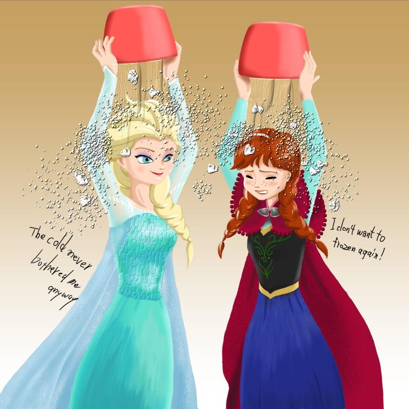 描いてみましたイラスト アナと雪の女王 いにしへのかけら