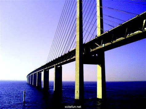 oresund bridge denmark  sweden wallpapers xcitefunnet