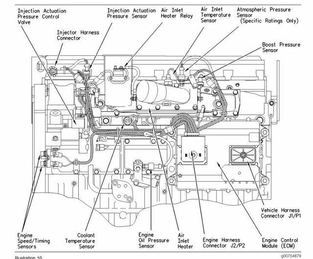 32 Caterpillar C7 Engine Diagram