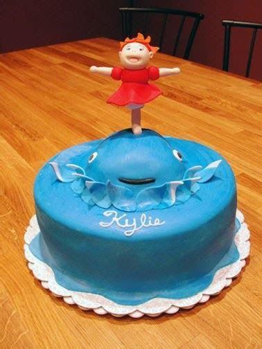 A Ponyo Cake For Kylie   MamaWa's Cake Journey