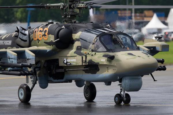 El helicóptero de ataque Ka-52 puede también recibir nuevo sistema de navegación.