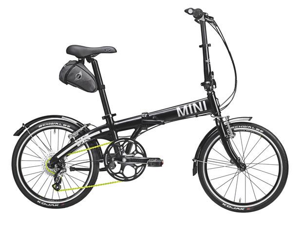 Bicicleta da Mini pesa menos de 11 quilos (Foto: Divulgação)