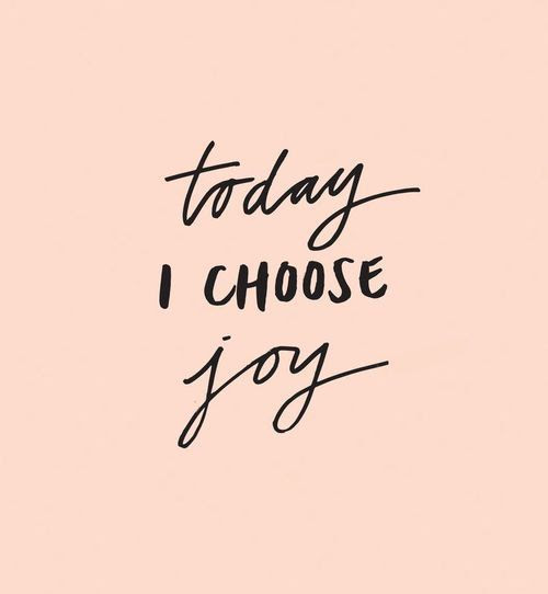 Today I choose joy...  Please like, comment, and share! <3https://www.facebook.com/alovingmom29