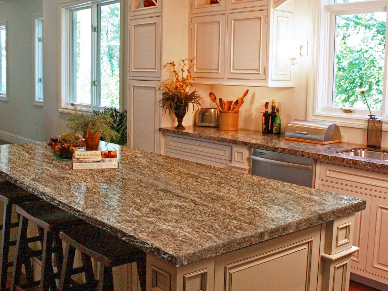 How To Paint Laminate Kitchen Countertops Diy Within Can You Spray