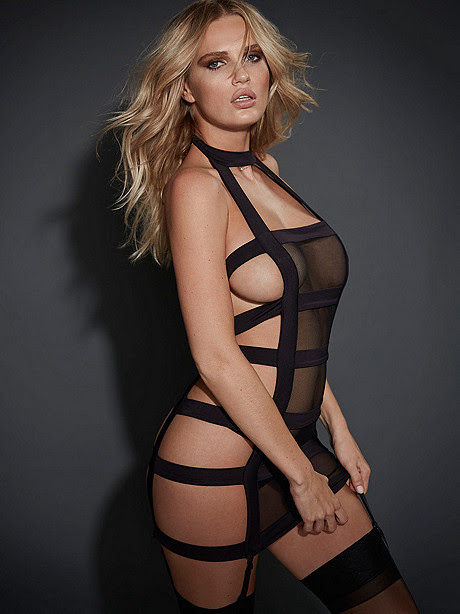 Sexy Strappy Chemise