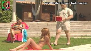Ines Castel Branco sensual em vários trabalhos