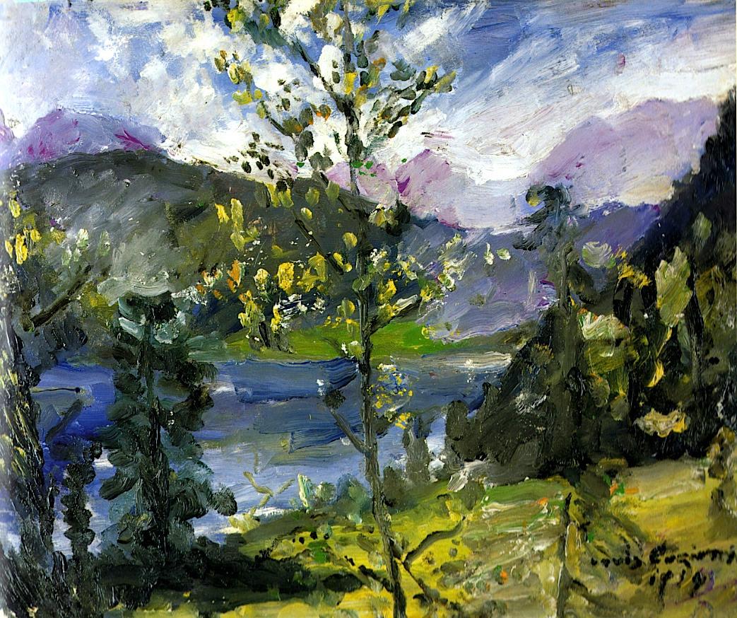 Lovis Corinth Oktoberschnee am Walchensee 1919