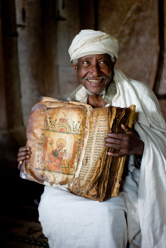 Ethiopia - The priest and the eight hundred year old bible