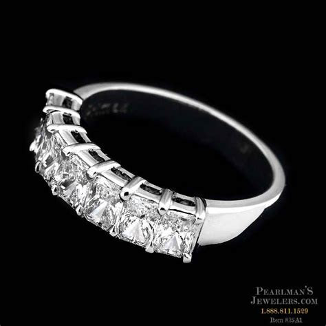 Sasha Primak's beautiful platinum and diamond wedding band..