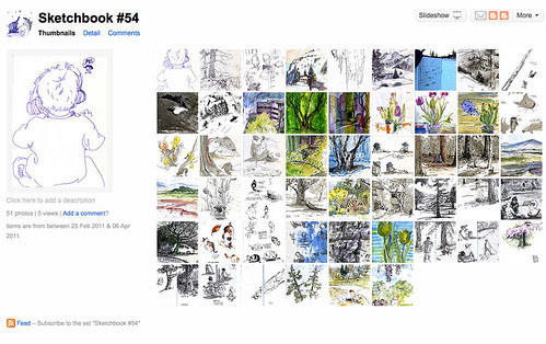 Sketchbook 54 - Overview