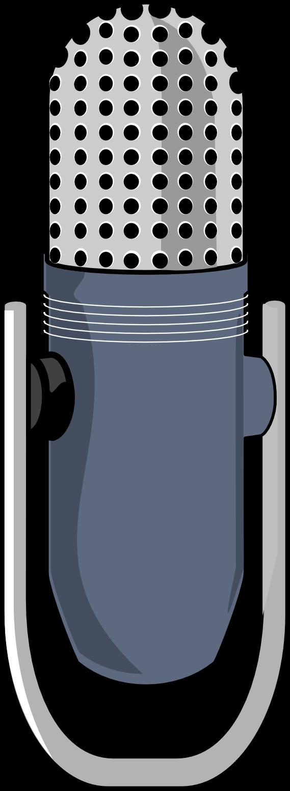 Artfavor Microphone 6 Scalable Vector Graphics SVG Clip ...