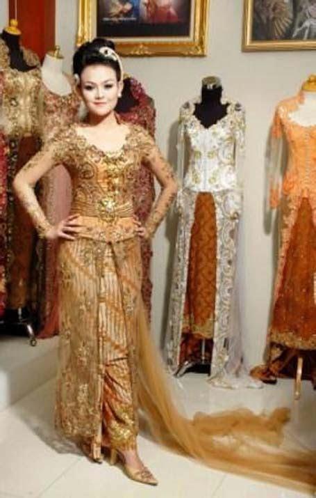 gambar model baju kebaya pernikahan  akad nikah gambar