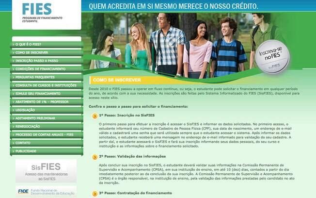 Todos os beneficiados pelo Fies têm 5% de desconto nas mensalidades dos cursos