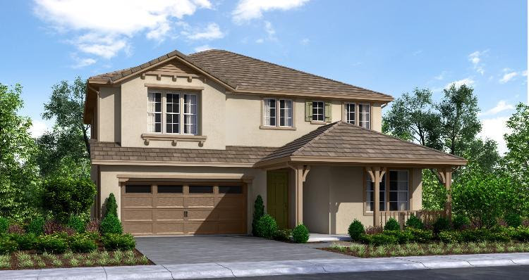 Woodside Homes, Woodward Estates, Plan 41381283, Manteca, CA  New Home for Sale  HomeGain