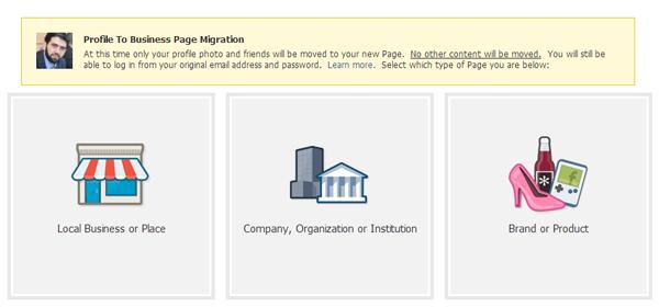 كيف تحول حسابك الشخصي لصفحة إعجاب على فيس بوك