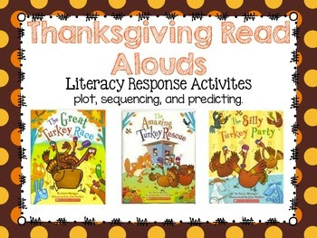Thanksgiving Read Alouds {Response Activities}