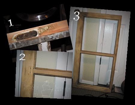 old window table stripped sanded hardware taken off copy