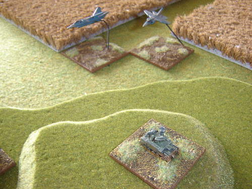 Air Defence with Support coming through