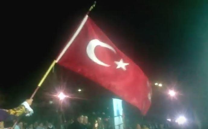 Η τουρκική σημαία στο Μοριά