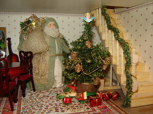 Father Christmas in the Doll's House