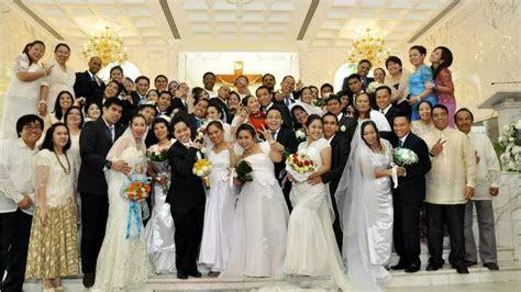 St Michael's Catholic Church Mass Wedding 2012   Wedding