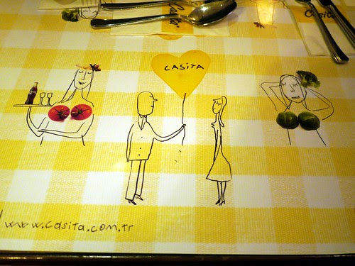 Sexist Placemat