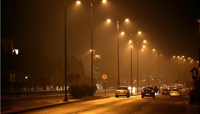 «Πνίγηκε» στην αιθαλομίχλη η Λάρισα