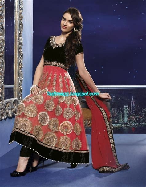 Fashion & Style: Anarkali Traditional Embroidered Fancy