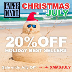 Save 20% during Christmas In July