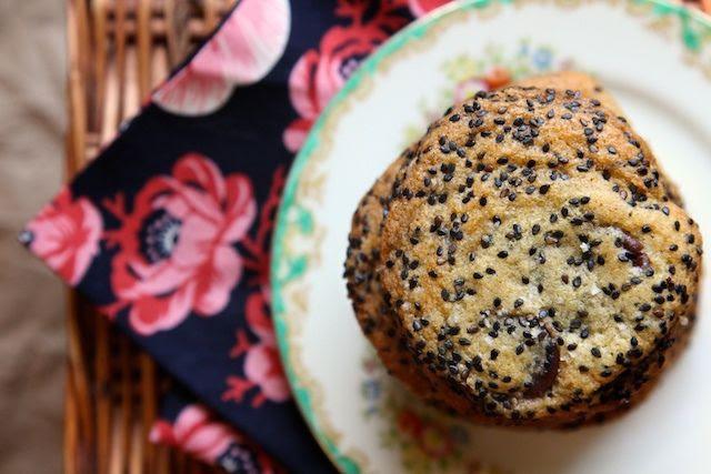 Salty Sesame and Dark Chocolate Chip Cookies