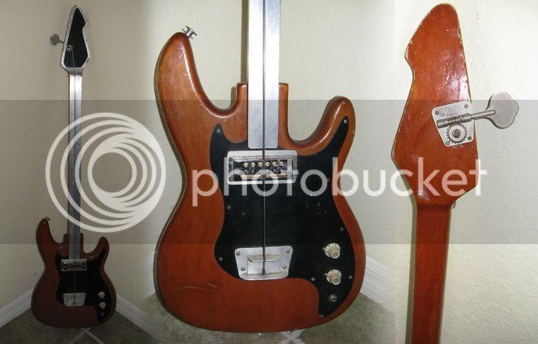 guitar blog homemade one string bass guitar with fretless aluminium fingerboard. Black Bedroom Furniture Sets. Home Design Ideas
