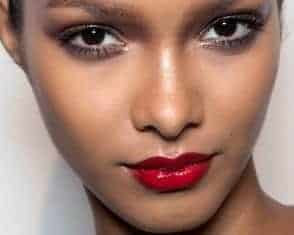 Lipstick colors for brown skin