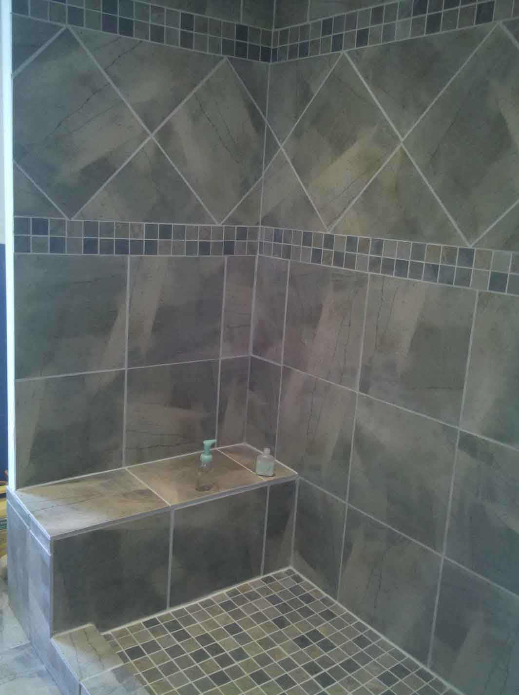 best tile for shower floor in grey and ceramic tiles for shower wall for stylish bathroom ideas