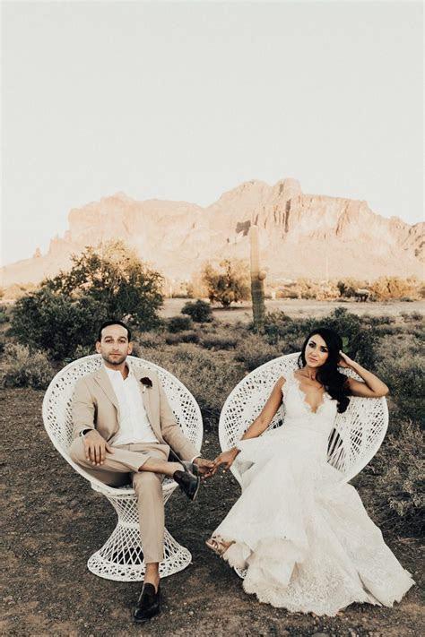 Spanish Inspired Arizona Wedding at The Paseo   Junebug