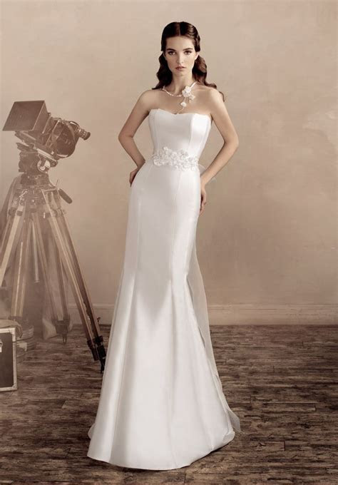 Online Buy Wholesale Plain Satin Wedding Dress From China