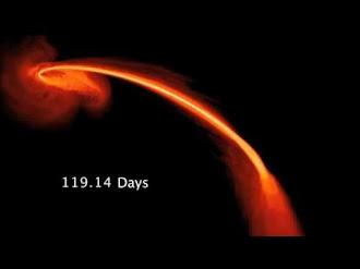 La Nasa Capta Como Agujero Negro Devora A Estrella (How a Distant Black Hole Devoured a Star)