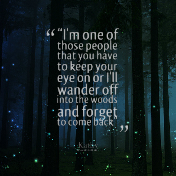 Quotes About Walks In The Woods 22 Quotes