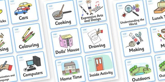 Nursery / Foundation Stage 1 Visual Timetable - Daily Routine ...