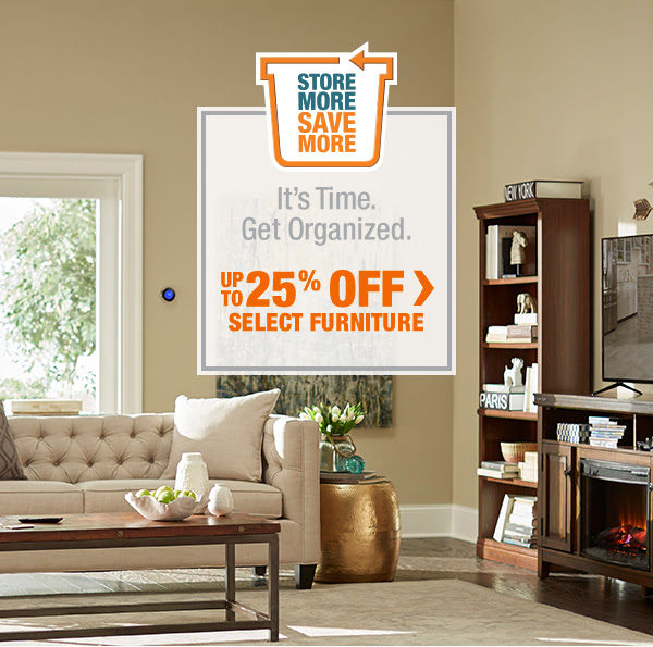 Up To 25% Off Select Furniture