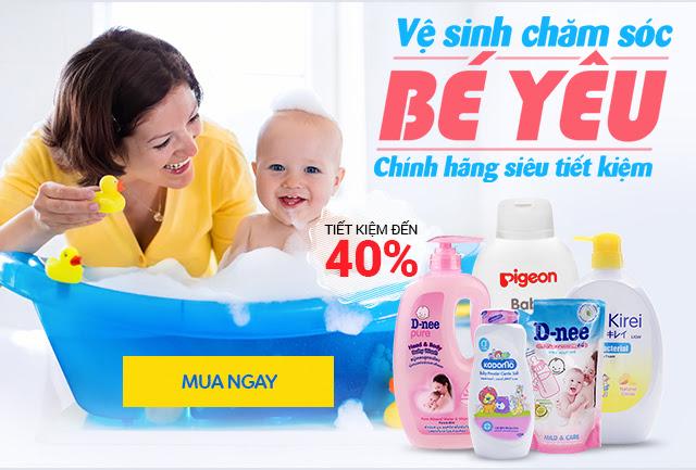 Vệ sinh chăm sóc bé yêu- chính hãng siêu tiết kiệm - STOPPER GIẢM 40%
