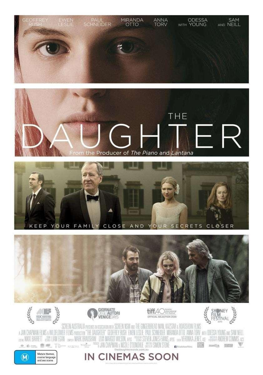 Η κόρη (The Daughter) Poster Πόστερ