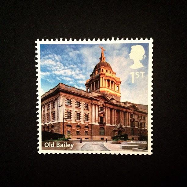 Day 6: Building #oldbailey #uk #british #building #postagestamp #stamp #psjune #postalsociety